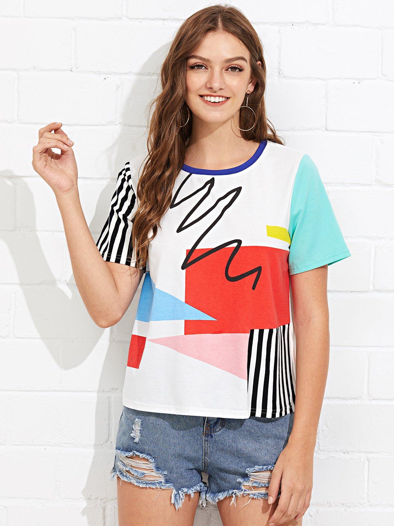 0c6b69a859e Glamorous Tall Oversized T Shirt Dress In Floral Velvet