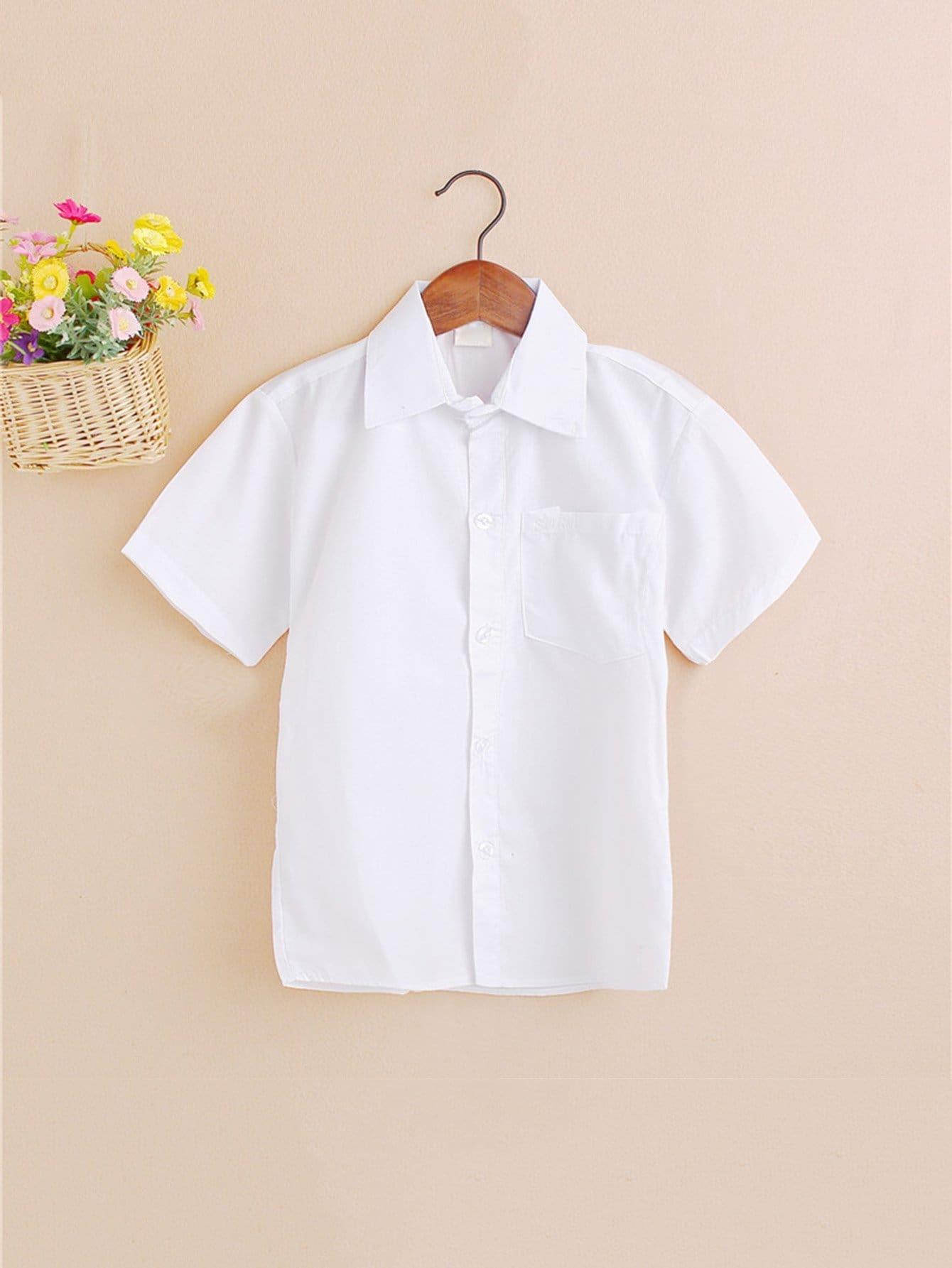Обычная Рубашка Мальчиков