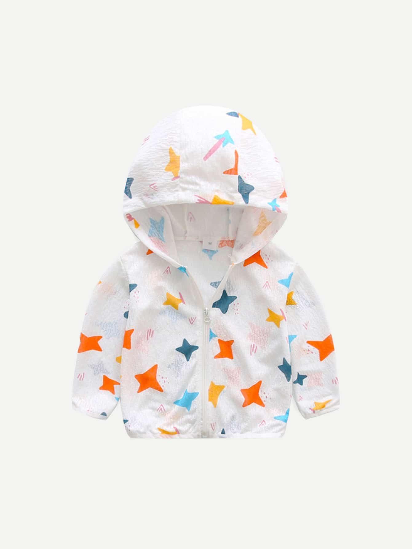 Пентаграмма Мальчики С Капюшоном Куртка
