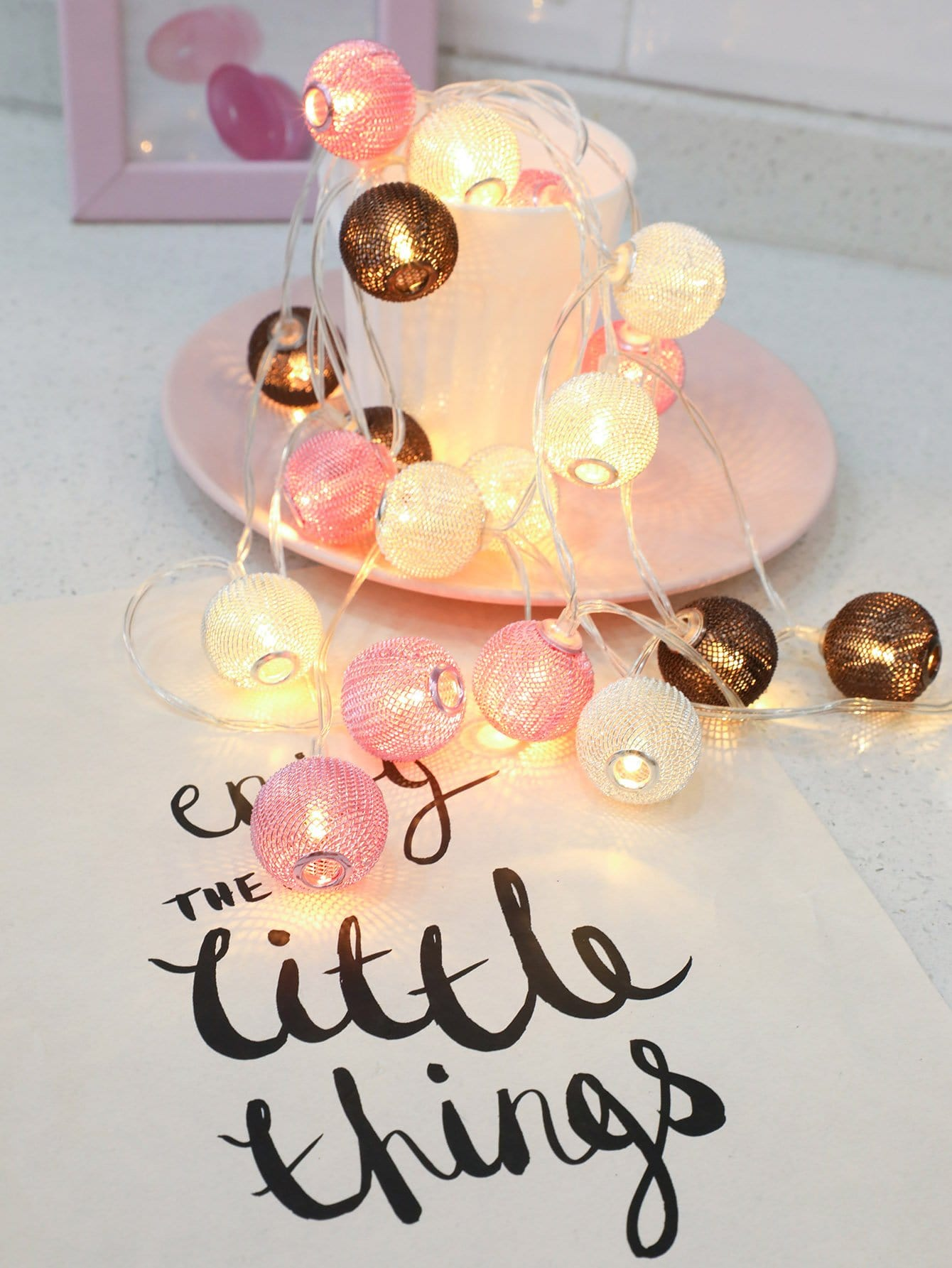 Купить Строковые лампы в форме фонарей 20шт, null, SheIn