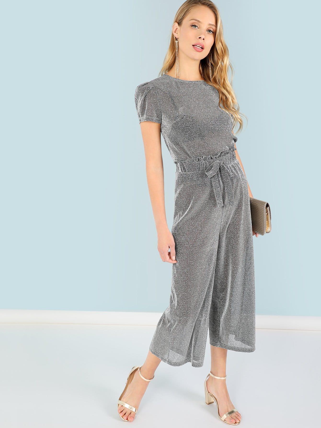 Купить Блеск для верхней и узловой передних брюк, Allie Leggett, SheIn