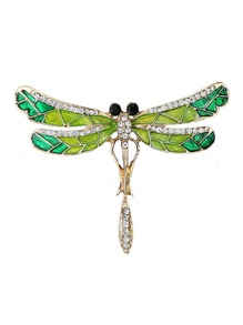 Dragonfly Shaped Brooch