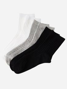 Rib Socks 5pairs