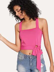 Knot Side Cami Top