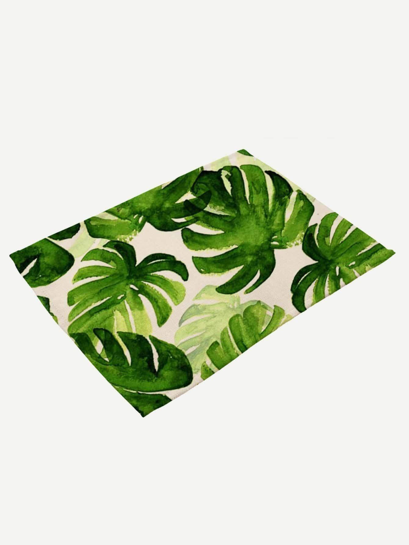 Palm Print Placemat palm print placemat