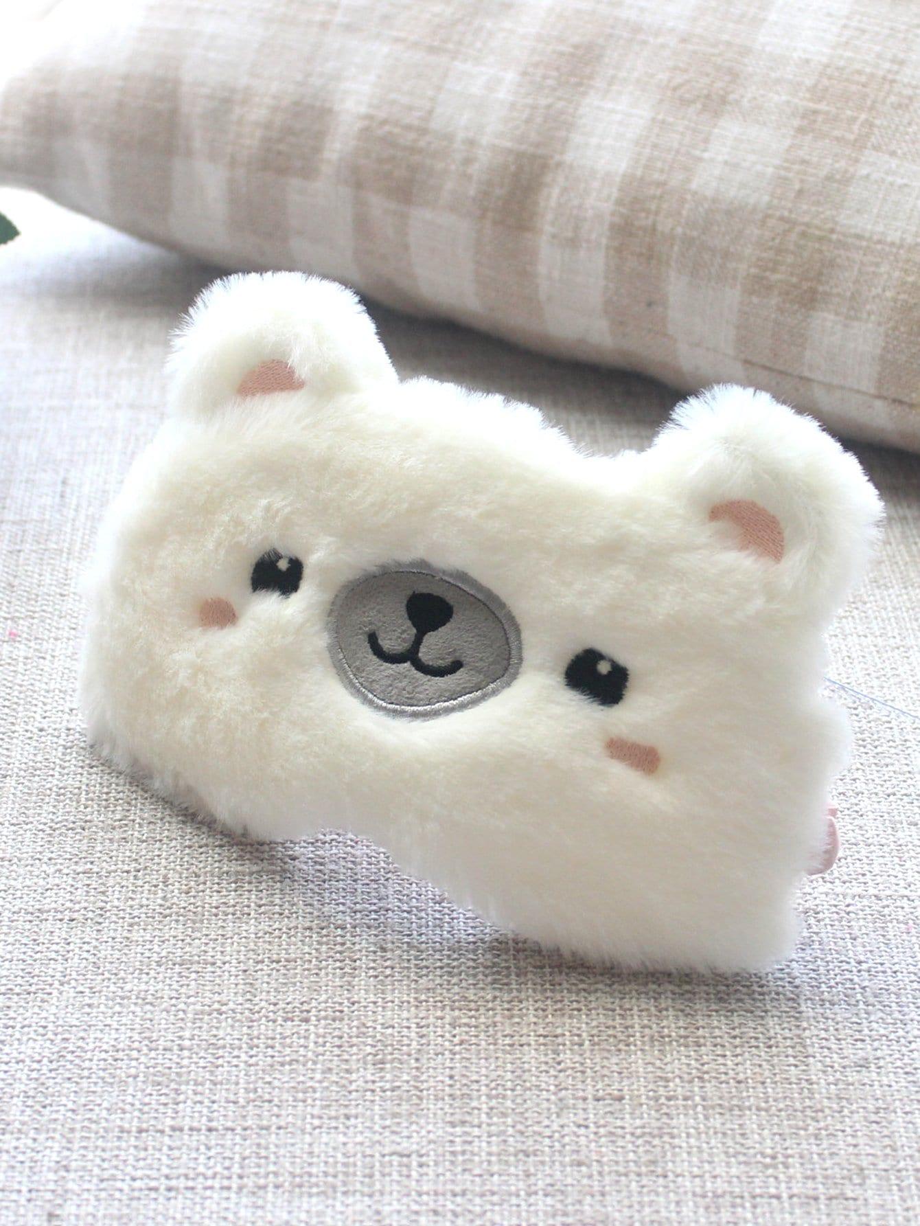 Bear Plush Eye Mask 70cm fluorescent bear wedding birthday gift wholesale creative new large plush bear toys to give their children christmas gifts