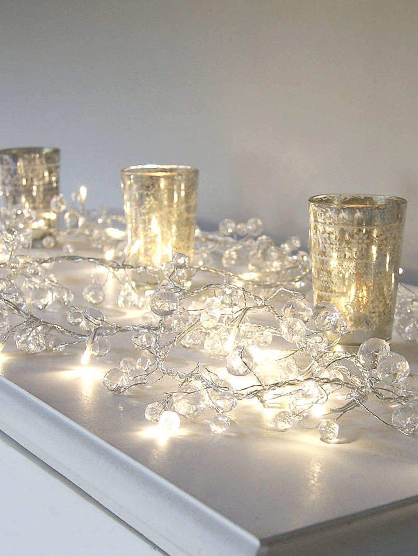 10pcs Crystal String Light free shipping 10pcs ba6998fp