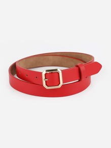 Polygon Buckle Belt