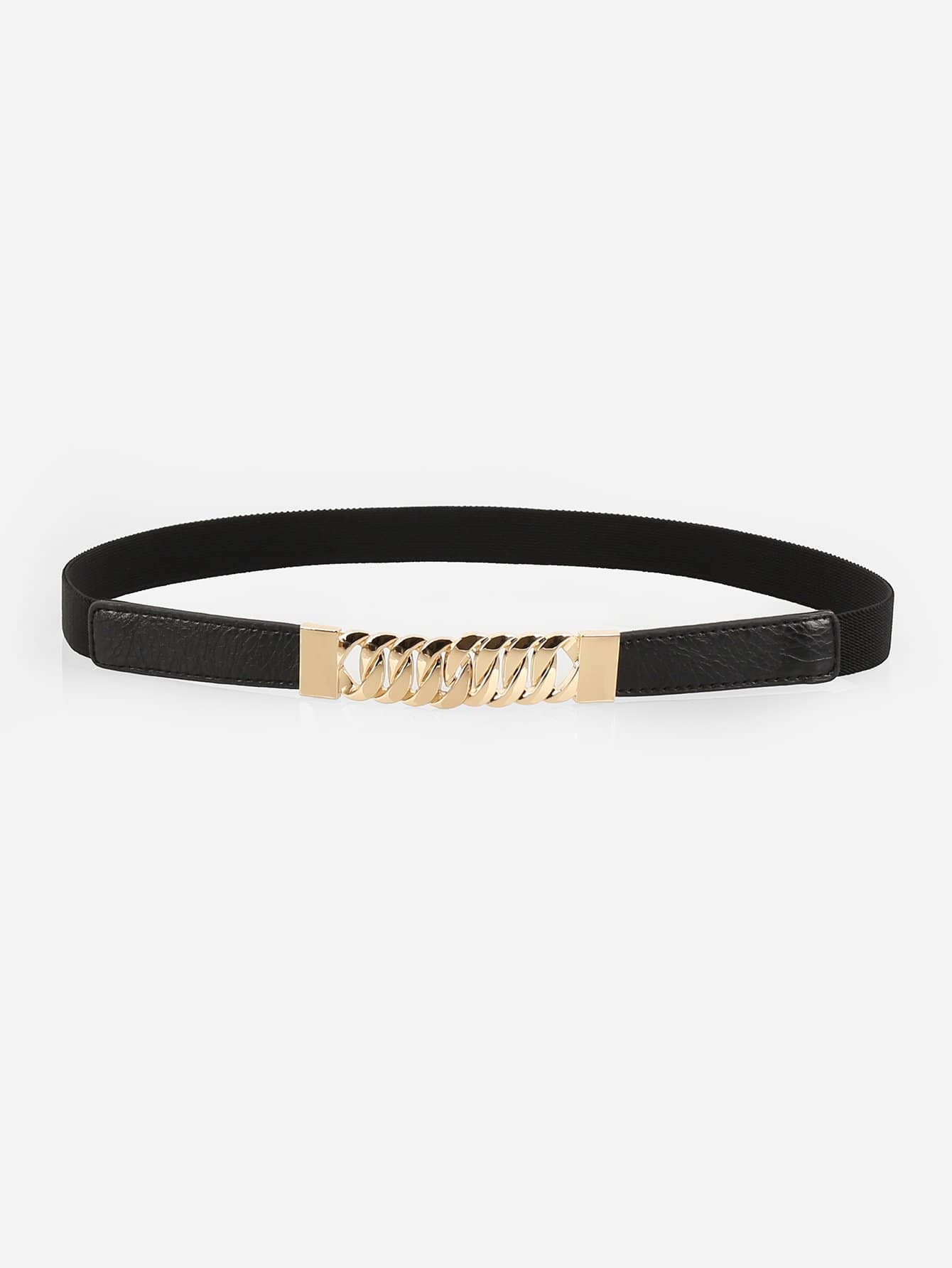 Chain Shaped Buckle Belt