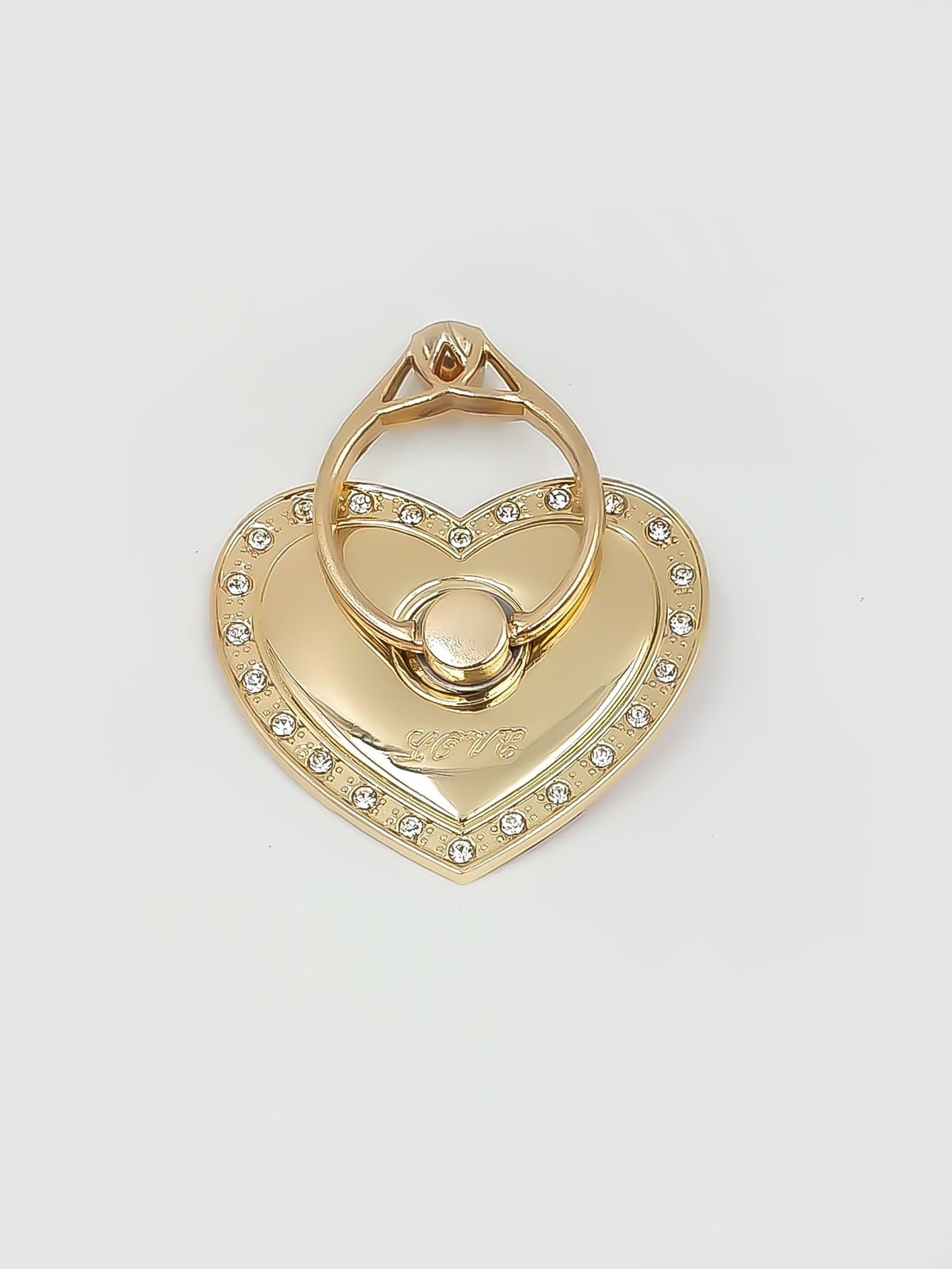Rotation Heart Shaped Phone Holder