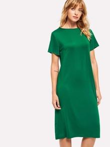 Round Neck Tee Dress