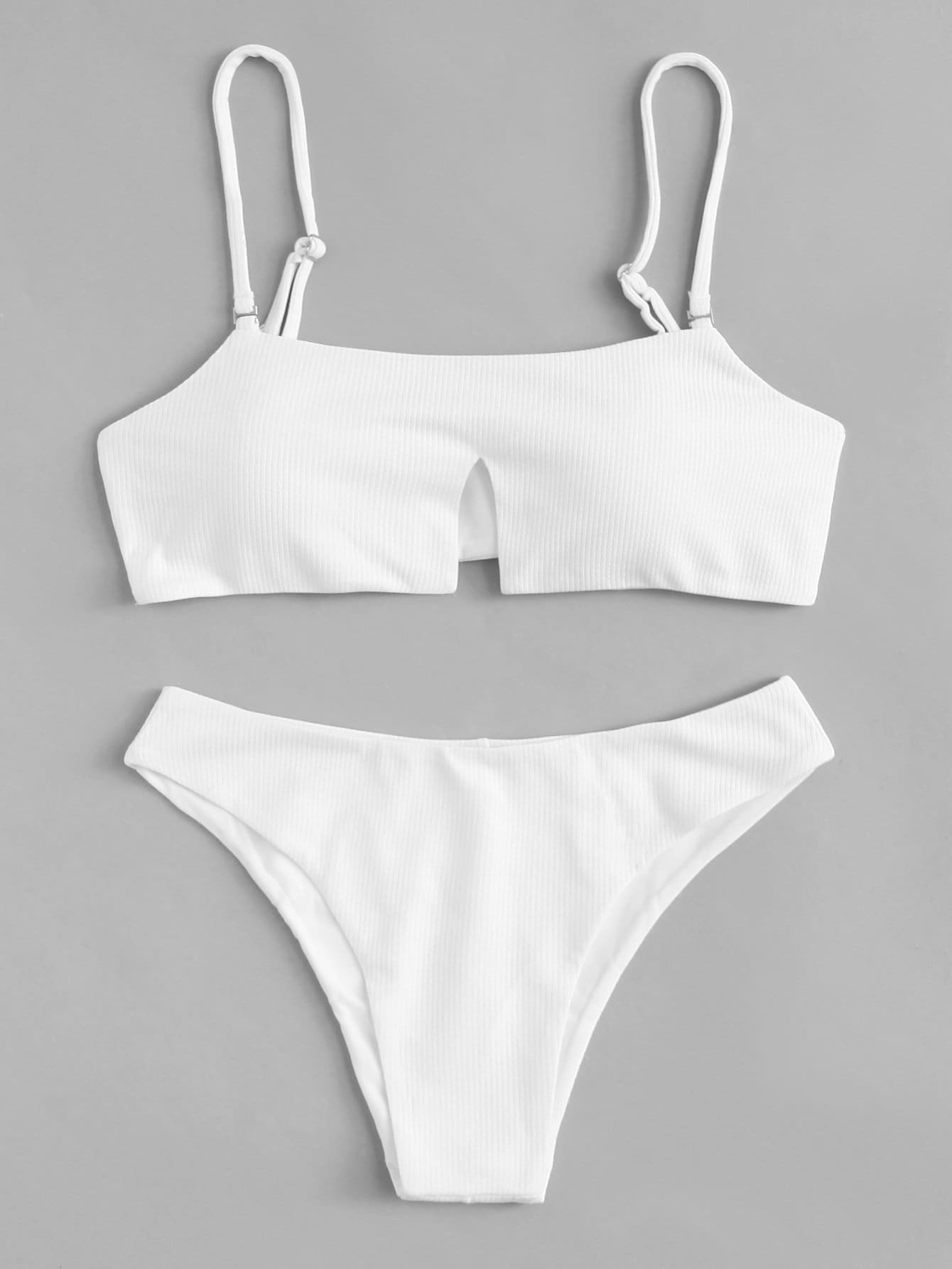 Adjustable Strap Bikini Set