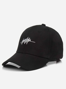 Embroidered Detail Baseball Cap