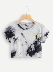 Water Color Cuffed Tee
