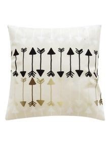 Fish Bone Print Pillowcase Cover 1pc