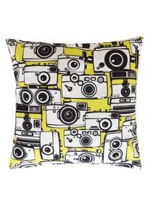 Camera Print Pillowcase Cover 1pc