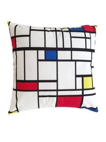 Geometric Pattern Pillowcase Cover 1pc