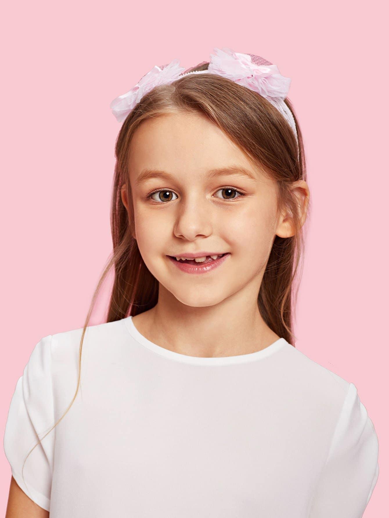 Lace Pineapple Design Kids Headband