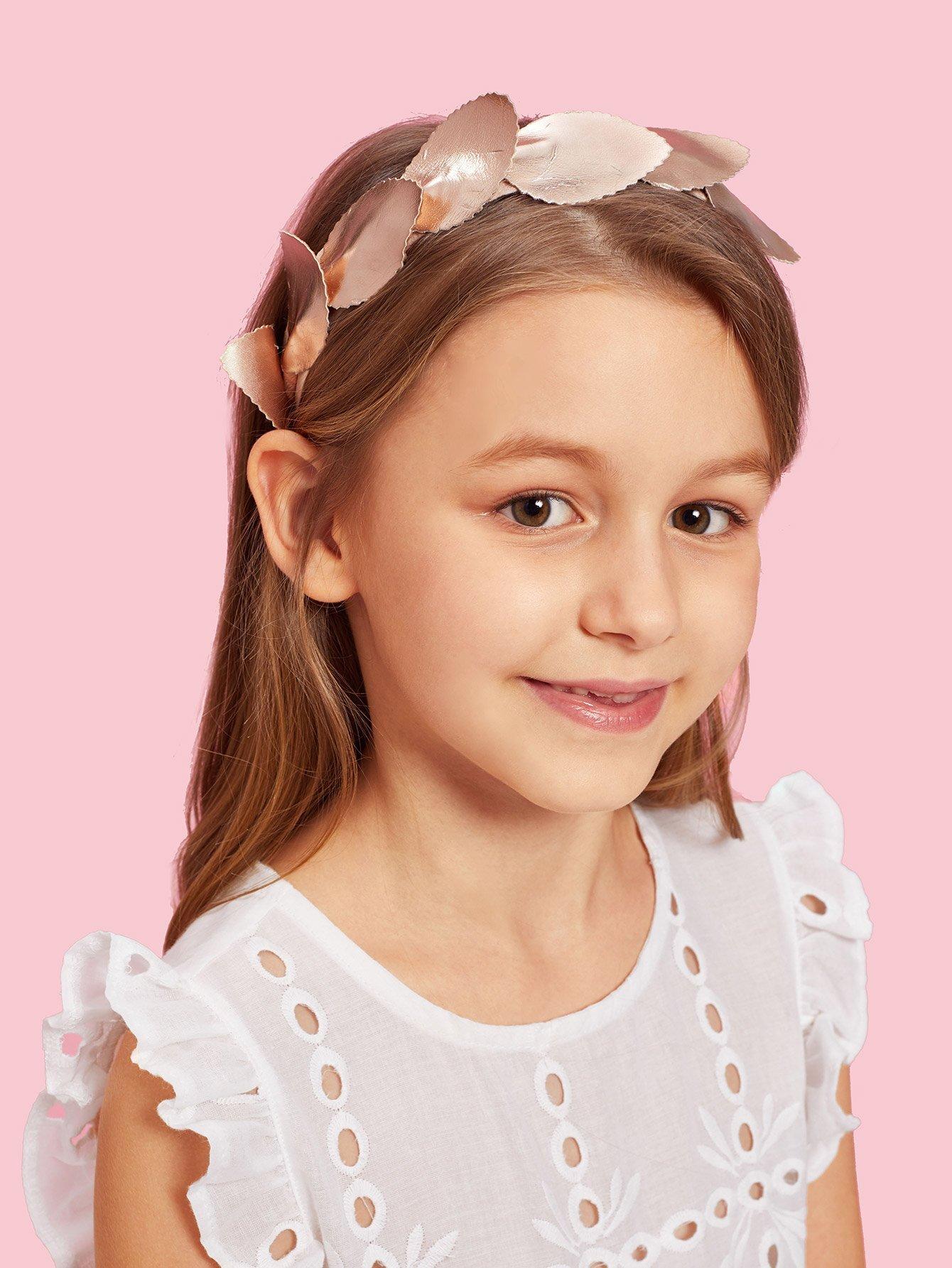 Купить Украшение на волосы для детей листья, null, SheIn