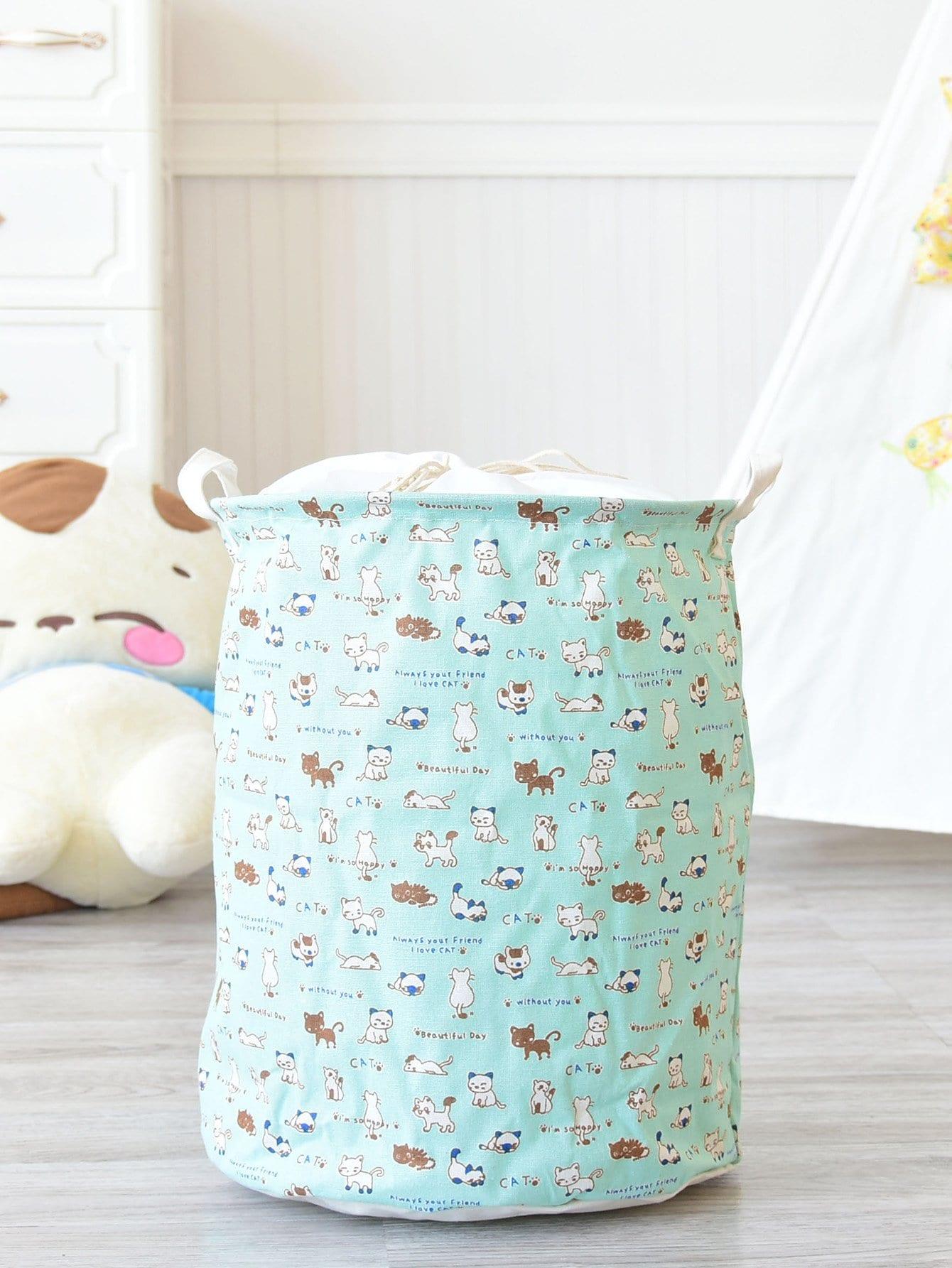 Купить Круглая корзина для хранения кошек, null, SheIn
