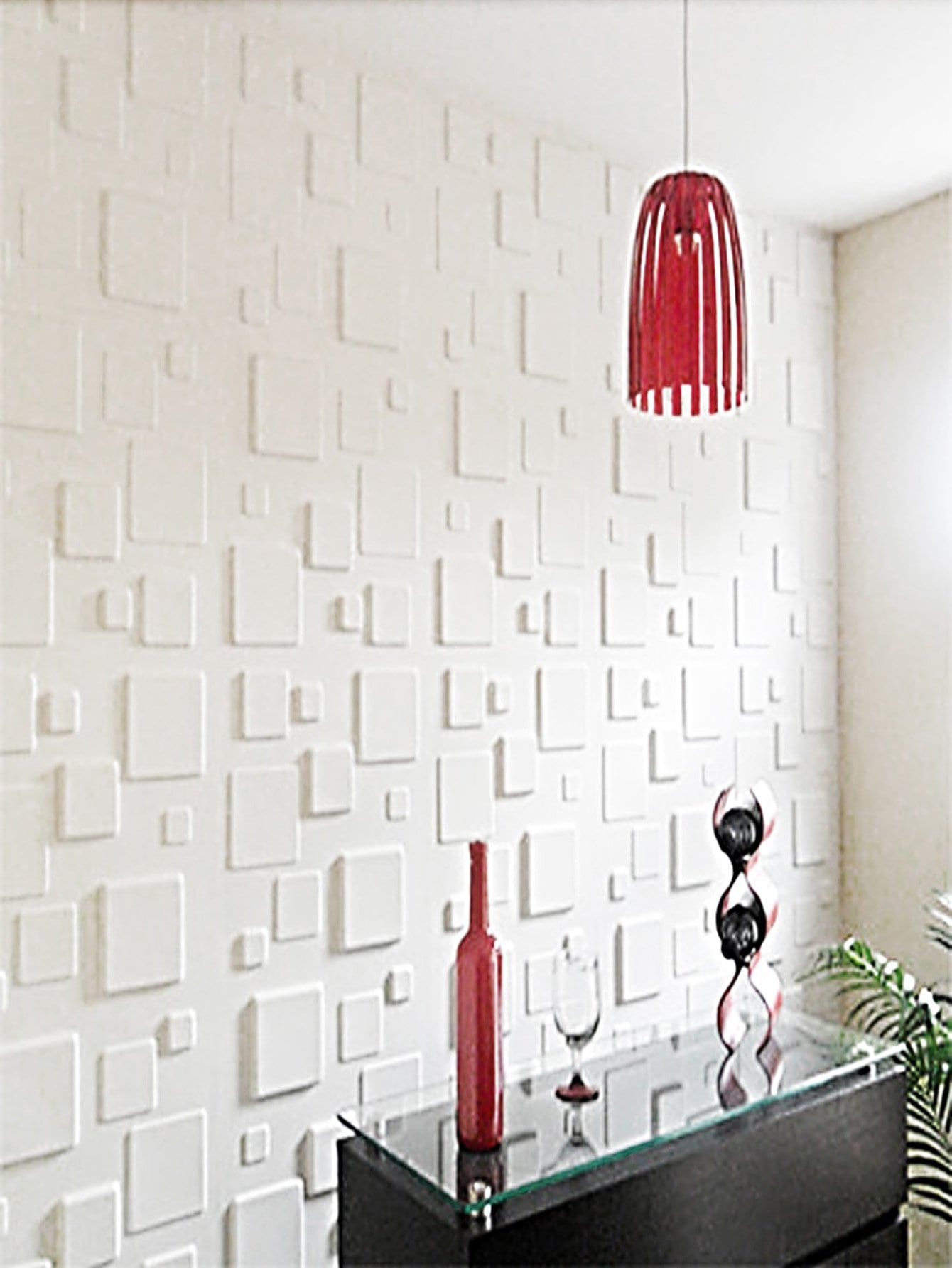 Textured Brick Wall Sticker