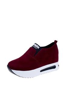 Suede Slip On Sneakers