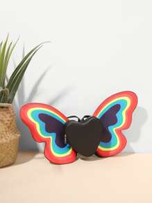 Butterfly Design PU Backpack