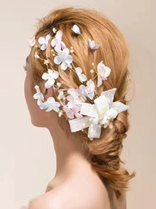 Flower Decorated Hair Accessories
