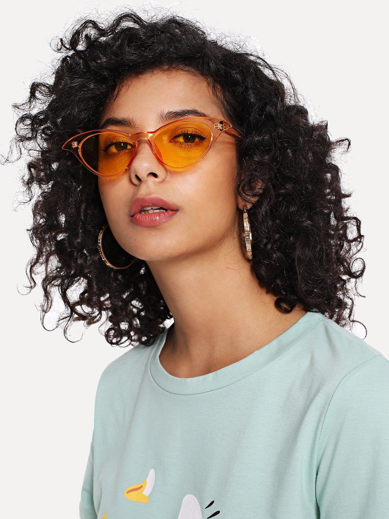 Tinted Lens Cat Eye Sunglasses cat eye glasses tinize 2015 tr90 5832
