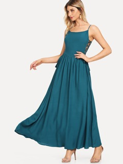 Solid Cami Dress