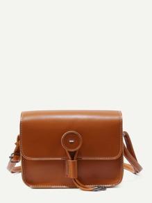 Stitch Trim Flap Bag