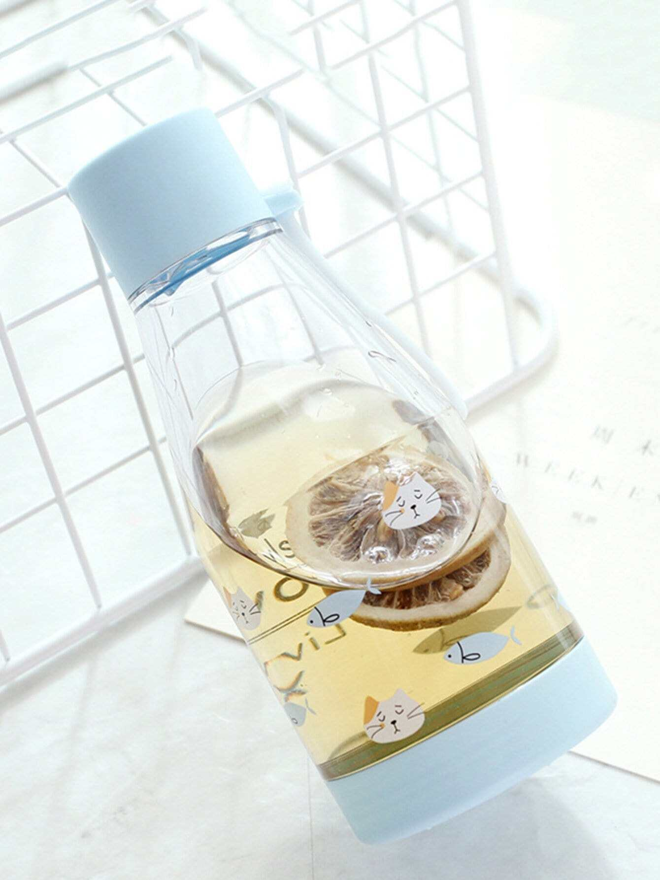 Clear Water Bottle 350ml With Wristlet usb hygrogen rich water bottle fast electrolysis hydrogen generator ionizer cup alkaline water maker 350ml super antioxidants
