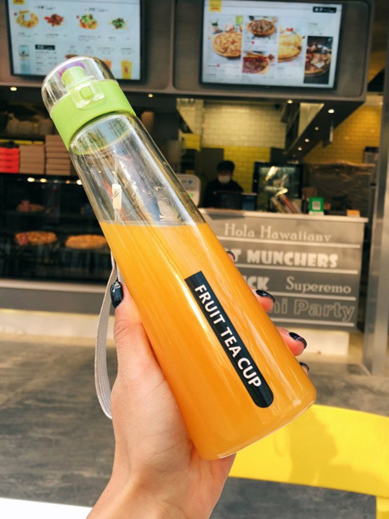 Clear Water Bottle With Wristlet 400ml usb 400ml hydrogen ionizer water cup generator healthy portable anti aging bottle home office
