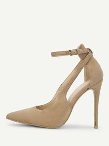 Pointed Toe Suede High Heels