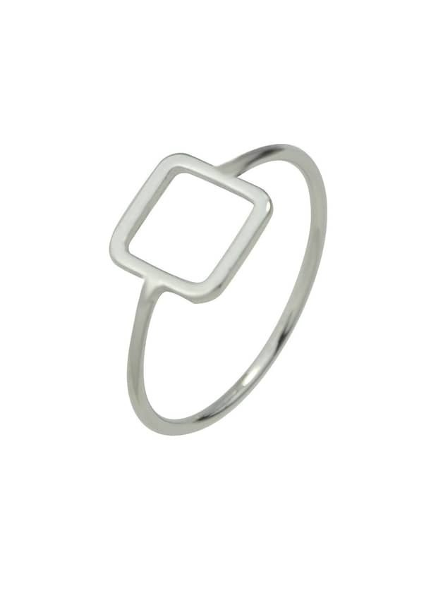 Gold Silver Color Geometric Shape Rings