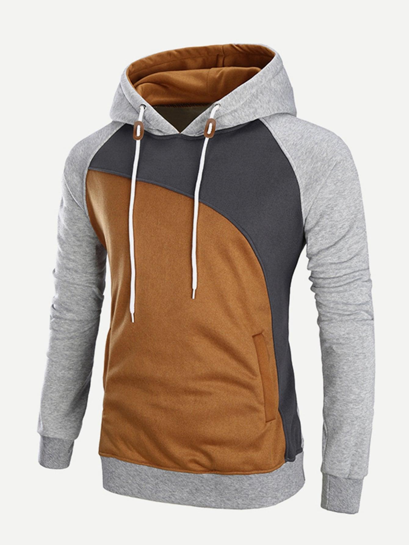 Männer Cut und Sew Sweatshirt