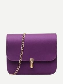 Push Lock Chain Bag