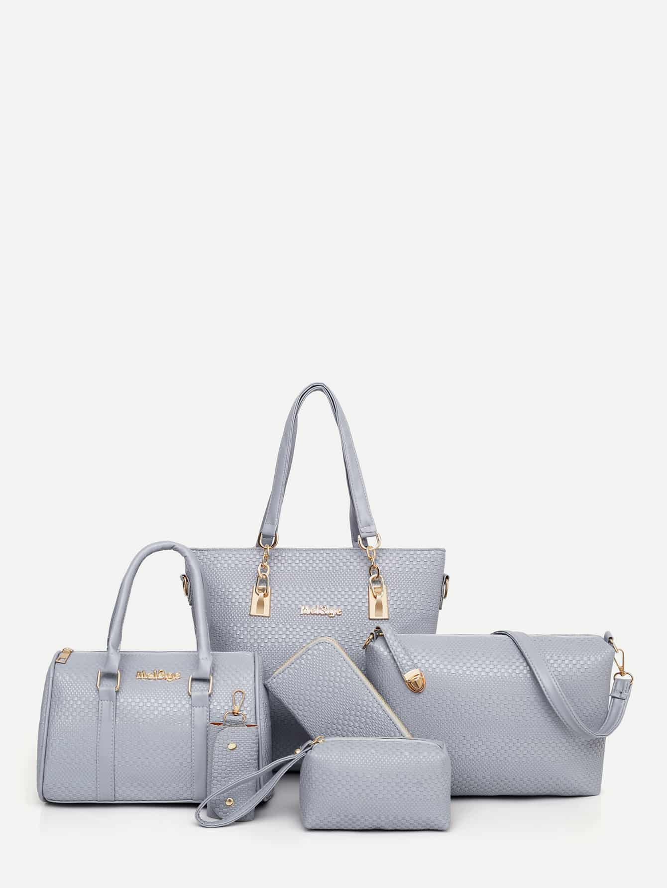 PU Combination Bag 6pcs null