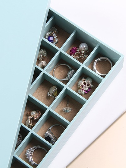 35 Compartment Jewellery Organizer With Cover