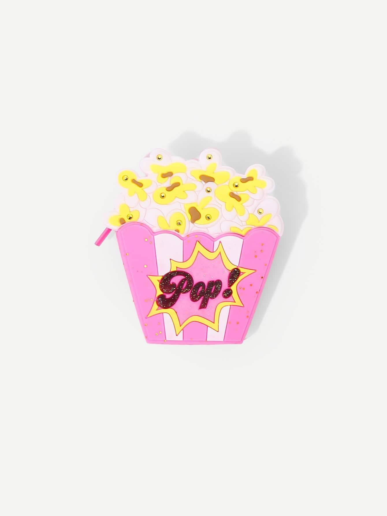 Popcorn-Design Niedlichen Geldbeutel
