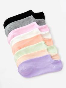 Plain Ankle Socks 8Pairs