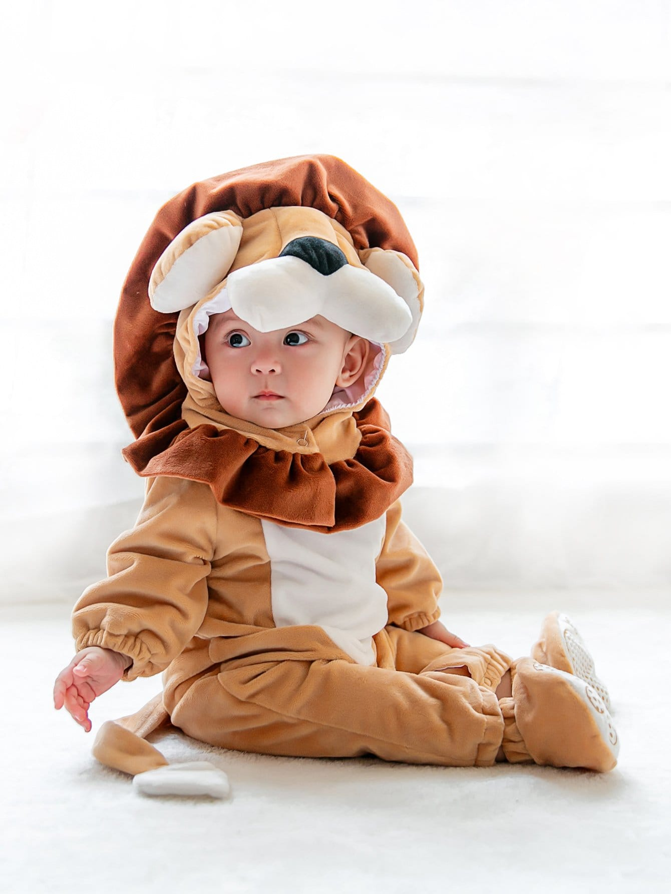 Boys Lion Onesie zapf creation одежда для куклы baby annabell 700 846