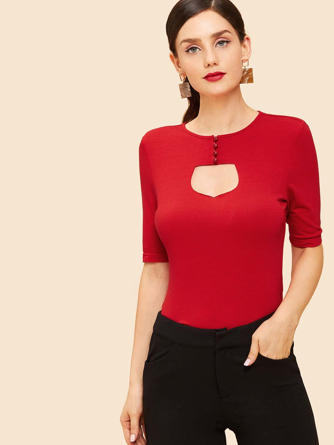 Кнопка Front Cut Out Top