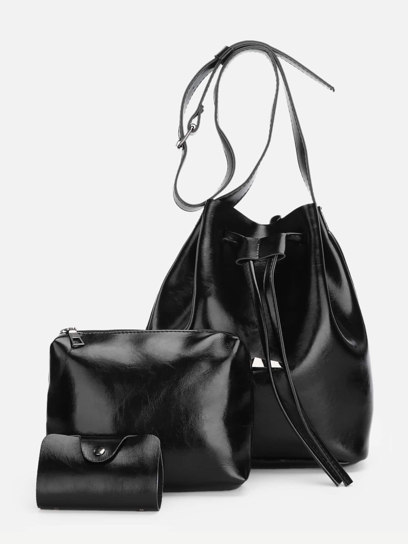 Купить Секционная сумка с басоном эластичным 3 шт, null, SheIn