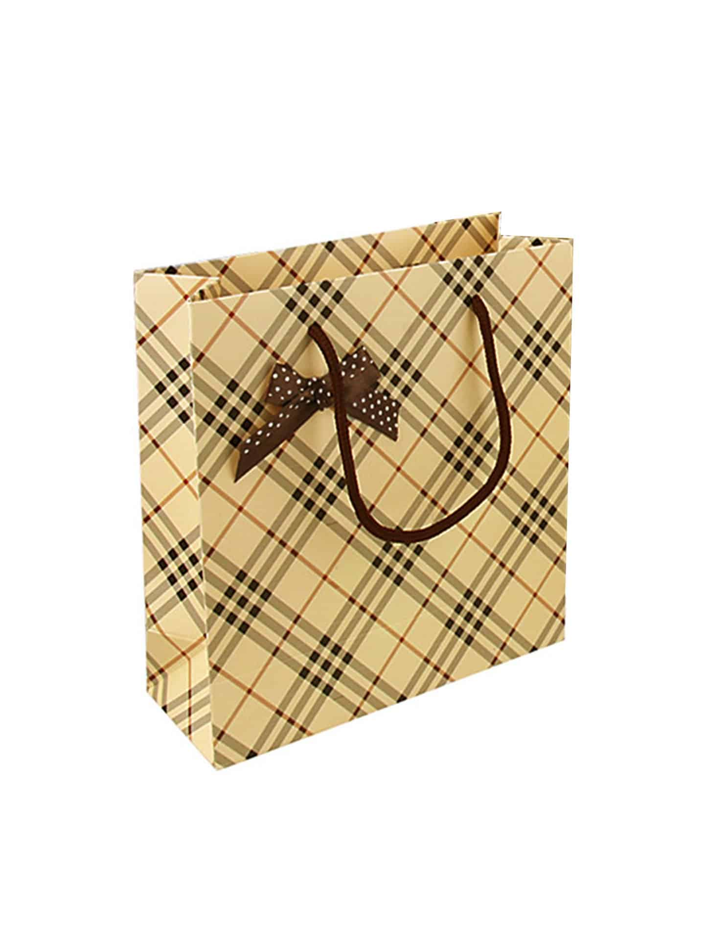 Plaid Pattern Small Paper Bag colorful coated paper clips 80 jumbo 250 small