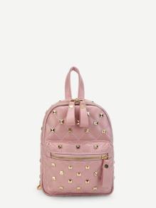 Rockstud Detail PU Backpack