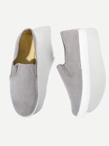 Low Top Suede Sneakers