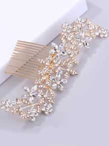 Rhinestone Decorated Hair Pin