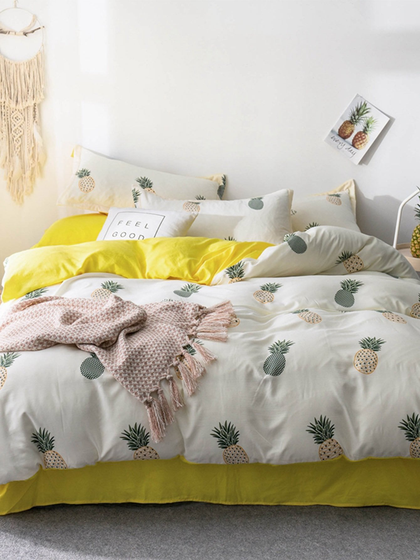 Купить Набор бумаги для печати с рисунками ананасов, null, SheIn