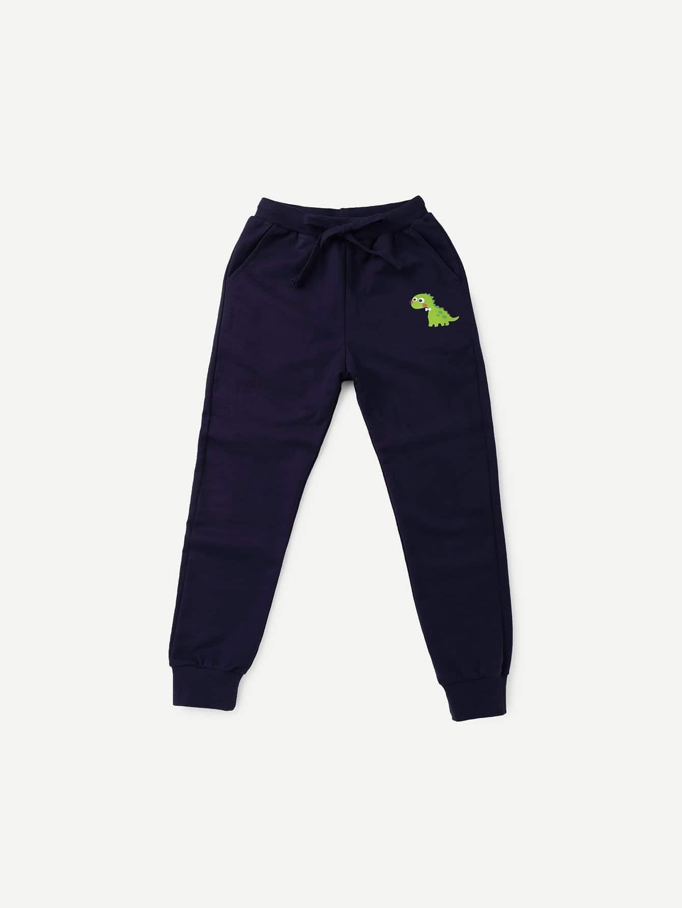 Boys Dinosaur Print Pants